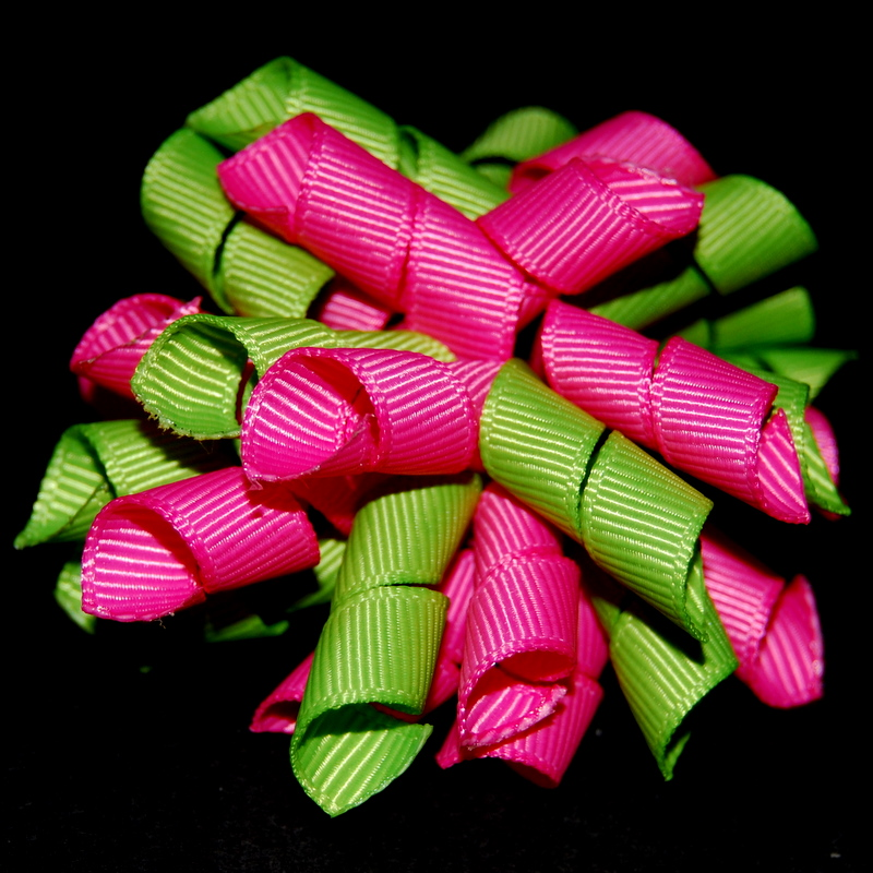 Hot pink and lime Princess Korker-
