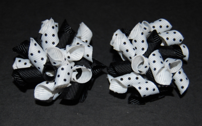 Black and white spots Teeny Tiny Korkers-