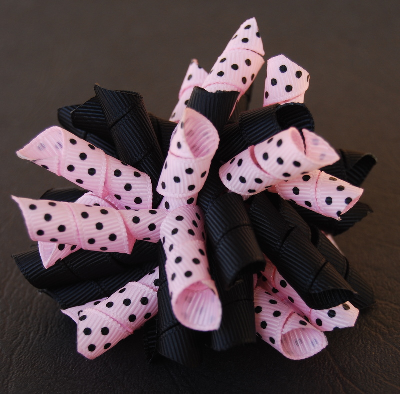 Pale pink and black Princess Korker-