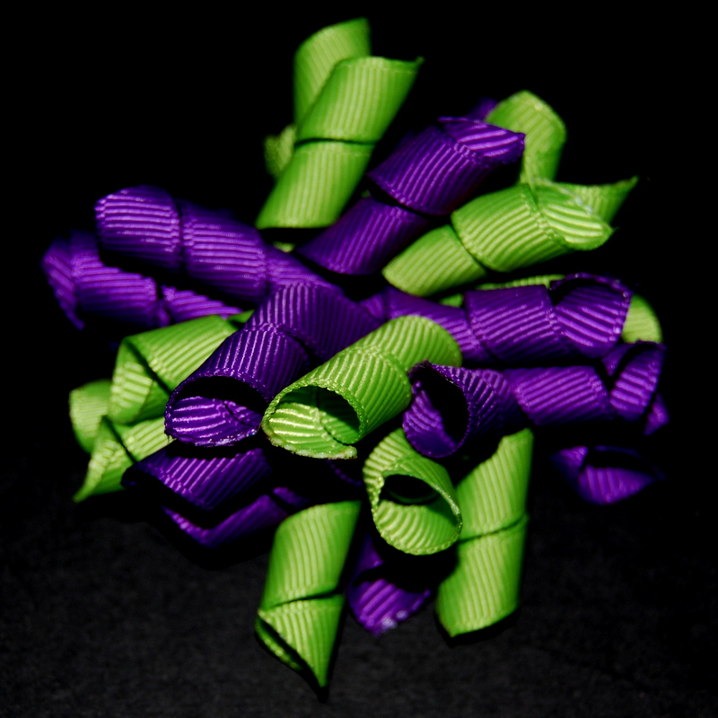 Purple and lime Princess Korker-