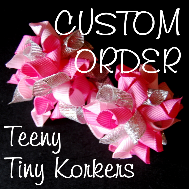 Teeny Tiny Korkers - Custom Order-