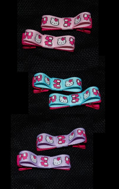 Hello Kitty Classic Bows - choice of colours
